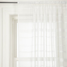 Buy John Lewis Venetian Slot Top Voile Panels Online at johnlewis.com