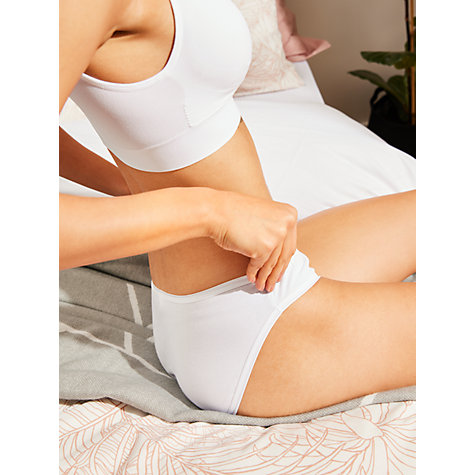 Buy John Lewis 5 Pack Pima Cotton Bikini Briefs Online at johnlewis.com