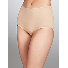 Buy John Lewis 5 Pack Pima Cotton Full Briefs Online at johnlewis.com