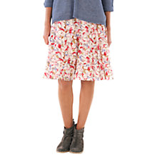 Buy Jigsaw Bella Floral Skirt, Pink Online at johnlewis.com