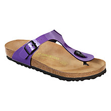 Buy Birkenstock Gizeh Sandals, Lilac Online at johnlewis.com