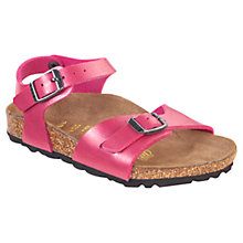 Buy Birkenstock Rio Sandals, Rose Online at johnlewis.com