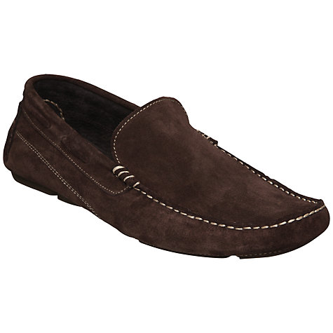 Buy Dune Bale Suede Driver Shoes Online at johnlewis.com