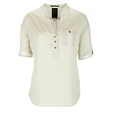 Buy G-Star Raw Island Shirt, White Online at johnlewis.com