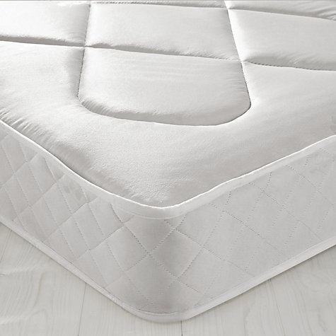 Buy John Lewis The Basics Open Spring Mattress, Kingsize Online at johnlewis.com