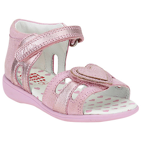 Buy Clarks Hazy Shine Sandals, Pink Online at johnlewis.com
