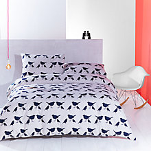Buy Anorak Kissing Robins Duvet Cover and Pillowcase Set Online at johnlewis.com