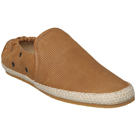 Buy Dune Fawkes Leather Espadrilles Online at johnlewis.com