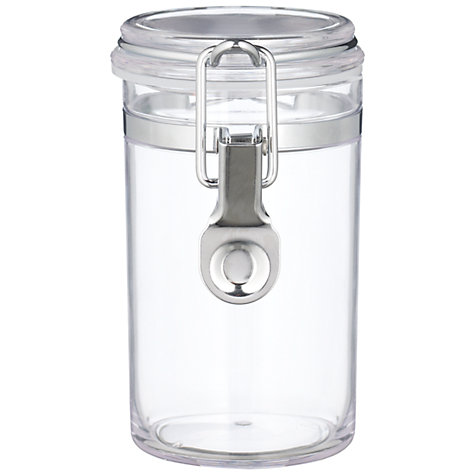 Buy John Lewis Acrylic Storage Jar, H19.4cm/975ml Online at johnlewis.com