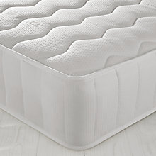 Buy John Lewis Open Memory Mattress, Single Online at johnlewis.com