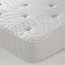 Buy John Lewis Pocket Comfort 1 Mattress, Single Online at johnlewis.com
