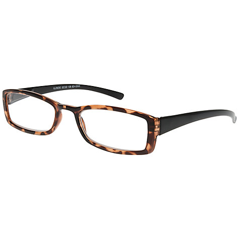 Buy Magnif Eyes Unisex Ready Readers Illinois Glasses, Shell Online at johnlewis.com