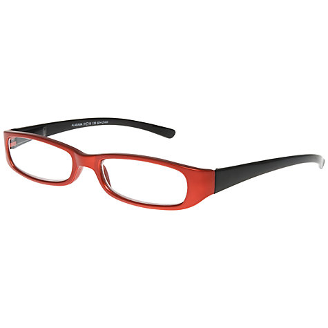 Buy Magnif Eyes Unisex Ready Readers Alabama Glasses, Red Online at johnlewis.com