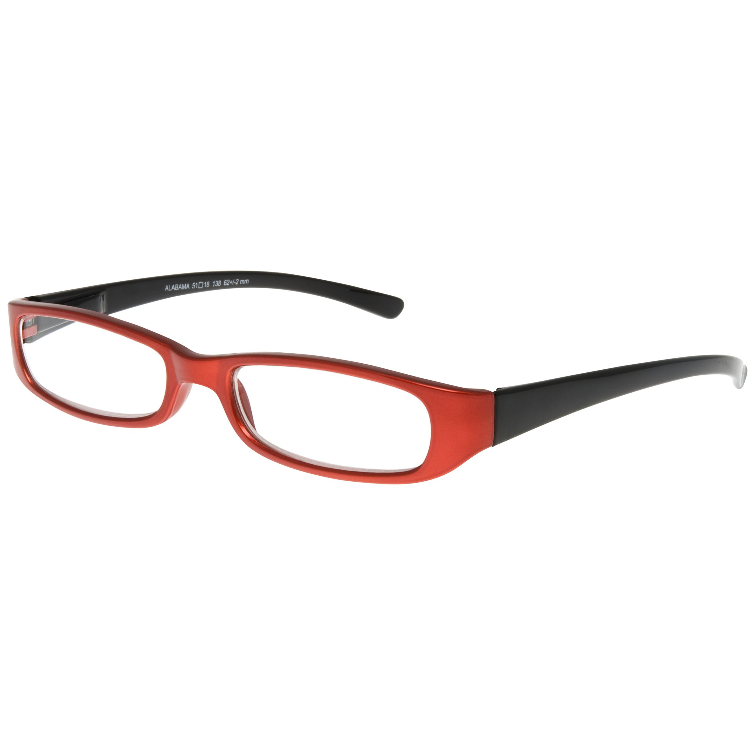 Magnif Eyes Magnif Eyes Unisex Ready Readers Alabama Glasses, Red