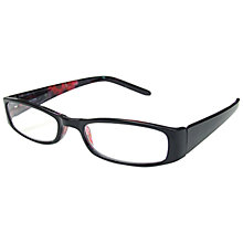 Buy Magnif Eyes Unisex Ready Readers Boston Glasses, Black Online at johnlewis.com