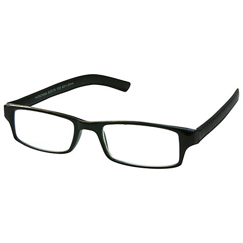 Buy Magnif Eyes Unisex Ready Readers Montana Glasses, Jet Online at johnlewis.com