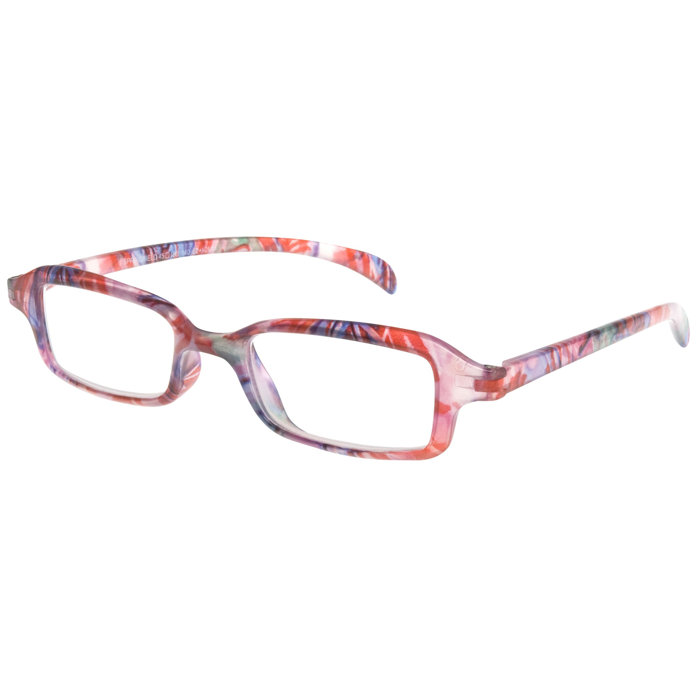 Magnif Eyes Magnif Eyes Ready Readers Springfield Glasses, Pink