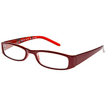Buy Magnif Eyes Unisex Boston Flamenco Ready Readers Glasses, Red Online at johnlewis.com