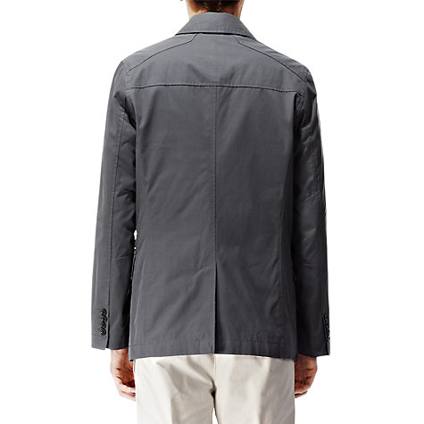 Buy Reiss Bradstock Single Breast Peacoat, Mineral Online at johnlewis.com