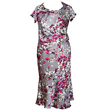 Buy Chesca Blossom Dress, Grey Online at johnlewis.com