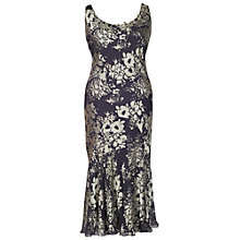 Buy Chesca Silk Mix Devoree Dress, Rock/Magnolia Online at johnlewis.com