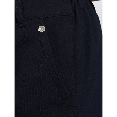 Buy John Lewis Girls' Pull On School Trousers, Navy Online at johnlewis.com