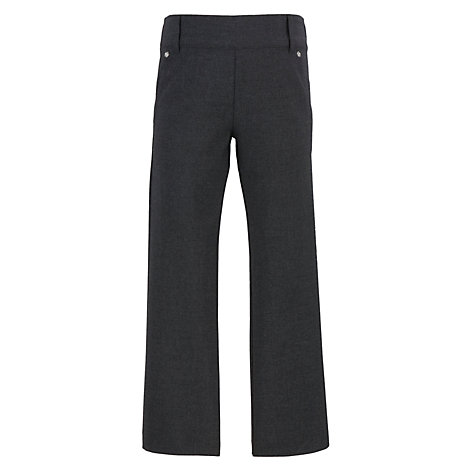 Buy John Lewis Girls' Pull On School Trousers, Grey Online at johnlewis.com