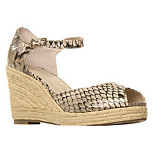 Buy Carvela Kupcake Ankle Strap Wedge Sandals Online at johnlewis.com