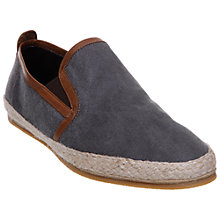 Buy Bertie Sunlight Espadrilles, Blue Online at johnlewis.com