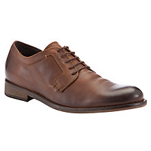 Buy Bertie Benjamin Round Toe Shoes, Tan Online at johnlewis.com