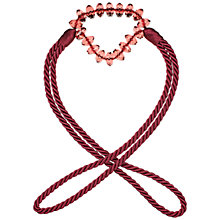 Buy John Lewis Crystal Rope Tieback Online at johnlewis.com