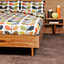 Buy Orla Kiely Scribble Stem Double Duvet Cover, Multi Online at johnlewis.com