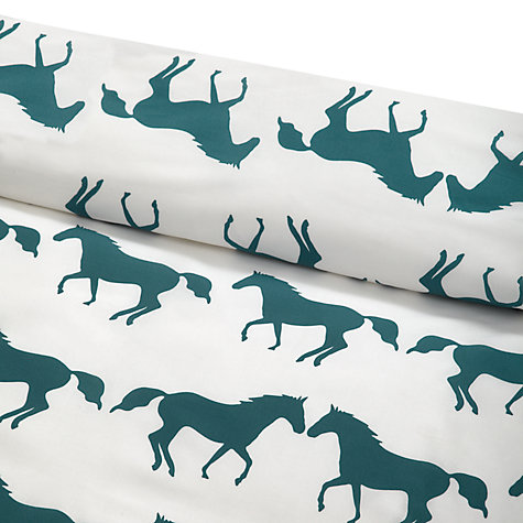 Buy Anorak Kissing Horses Duvet Cover and Pillowcase Set Online at johnlewis.com