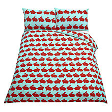 Buy Anorak Kissing Rabbits Duvet Cover Set Online at johnlewis.com