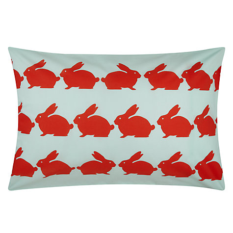 Buy Anorak Kissing Rabbits Duvet Cover and Pillowcase Set Online at johnlewis.com