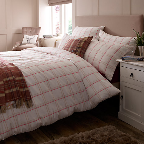Buy Jigsaw Padstow Check Duvet Cover Online at johnlewis.com
