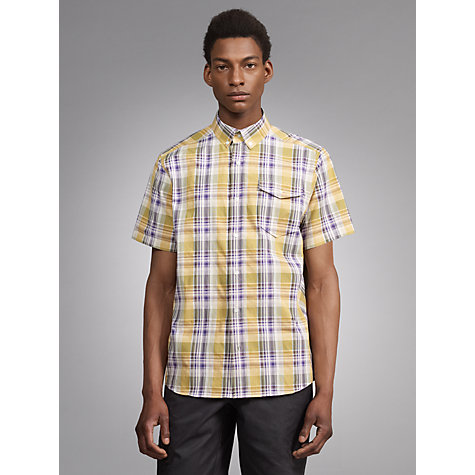 Buy Joe Casely-Hayford for John Lewis Tajura Yarn Dye Check Shirt Online at johnlewis.com