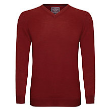 Buy John Lewis Made in Italy Merino V-Neck Jumper Online at johnlewis.com