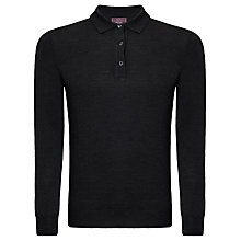 Buy John Lewis Made in Italy Long Sleeve Merino Polo Online at johnlewis.com