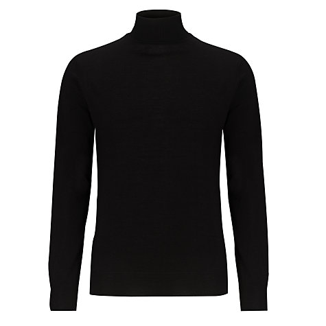 Buy John Lewis Made in Italy Merino Roll Neck Jumper Online at johnlewis.com
