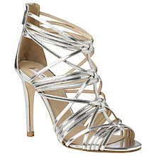 Buy L.K. Bennett Harnett Strappy Stiletto Ankle Sandals Online at johnlewis.com
