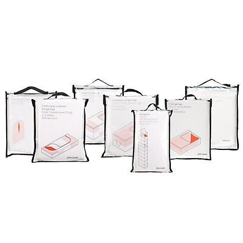 Buy John Lewis Transparent Clothes and Linen Storage Online at johnlewis.com