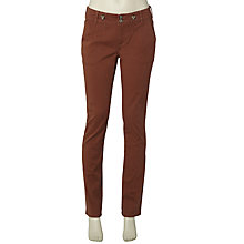 Buy White Stuff Niemes Trousers, Regular Length, Ember Glow Online at johnlewis.com