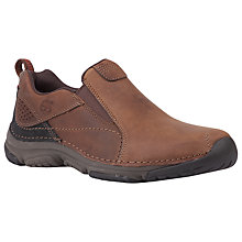 Buy Timberland Front Country Leather Slip On Shoes, Gaucho Online at johnlewis.com
