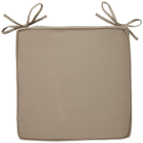 Buy John Lewis Piped Cotton Seat Pad Online at johnlewis.com