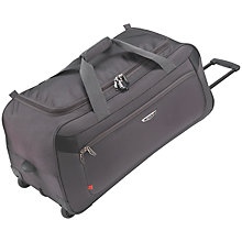 Buy Antler Airstream 2-Wheel Trolley Holdall, Charcoal Online at johnlewis.com