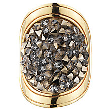 Buy Dyrberg/Kern Odette Crystal Gold Tone Ring Online at johnlewis.com