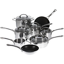 Buy Raymond Blanc by Anolon Stainless Steel Professional Cookware Online at johnlewis.com