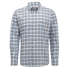 Buy Barbour Stroud Check Shirt, Sea Blue Online at johnlewis.com