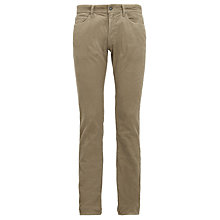 Buy Barbour Corduroy Slim 5 Pocket Trousers Online at johnlewis.com
